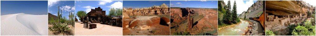 L'Ouest Américain: Les routes du sud . dans carnet de route presentation-blog