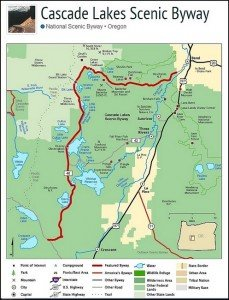 Cascades Lakes Scenic Byway