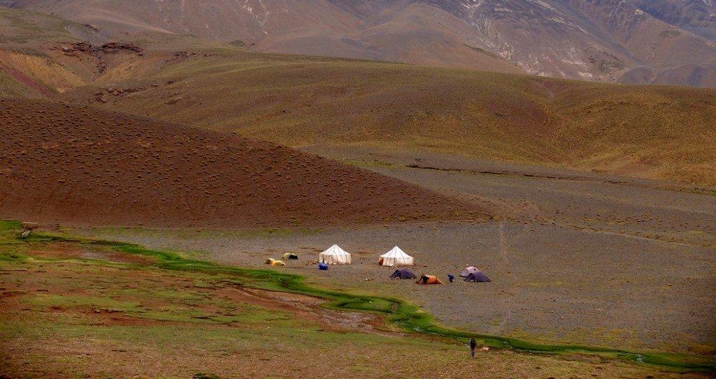 Camp au M'Goum