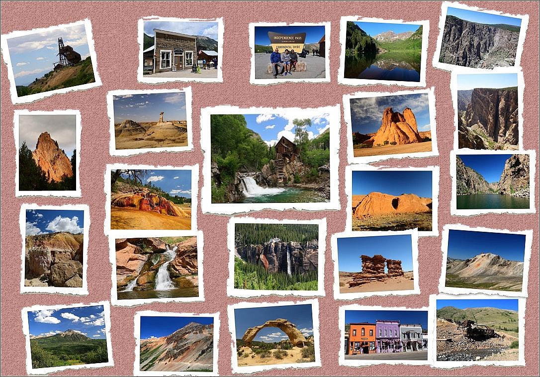 Colorado par ses sommets